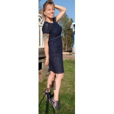 Adriana Papell AP / marin spetsklänning