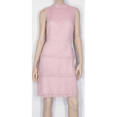 Adriana Papell AP / rosa spetsklänning