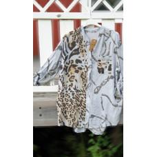 a Cosy House Skjorta gråblå leo