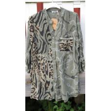 a Cosy House Skjorta kakigrön leo
