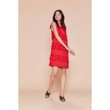 Derhy P915033/röd klänning