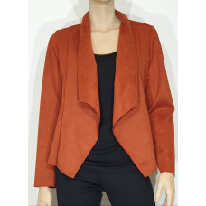 Fashion by K 3001.23 fuskmoccajacka rost