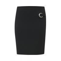 Fransa 20605248/svart kjol