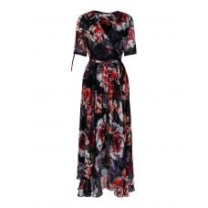 Haust 192-602/svart klänning