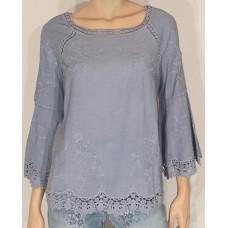 M.X.O 31245 blustop jeansblå
