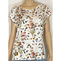M.X.O 31945 t-shirt blommor