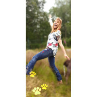 a Stajl Agenturer jeans DY503 Flare jeans