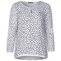 Street one dot mat mix shirt 314668