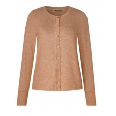 Street One jacket w.wavy button panel 314538 beige