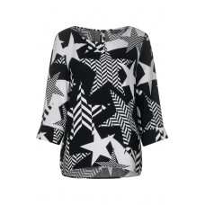 Street one Starprint blouse 341755