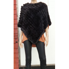 a Train of trend/ poncho svart