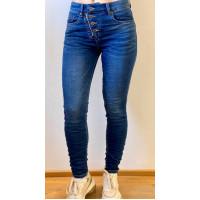 Train of trend M-3615 jeans blå
