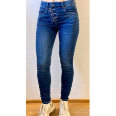 Train of trend M-3615 jeans blå
