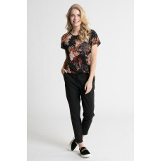 Fransa 20604475/svart  T-shirt