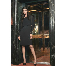 Fransa 20605064/svart klänning